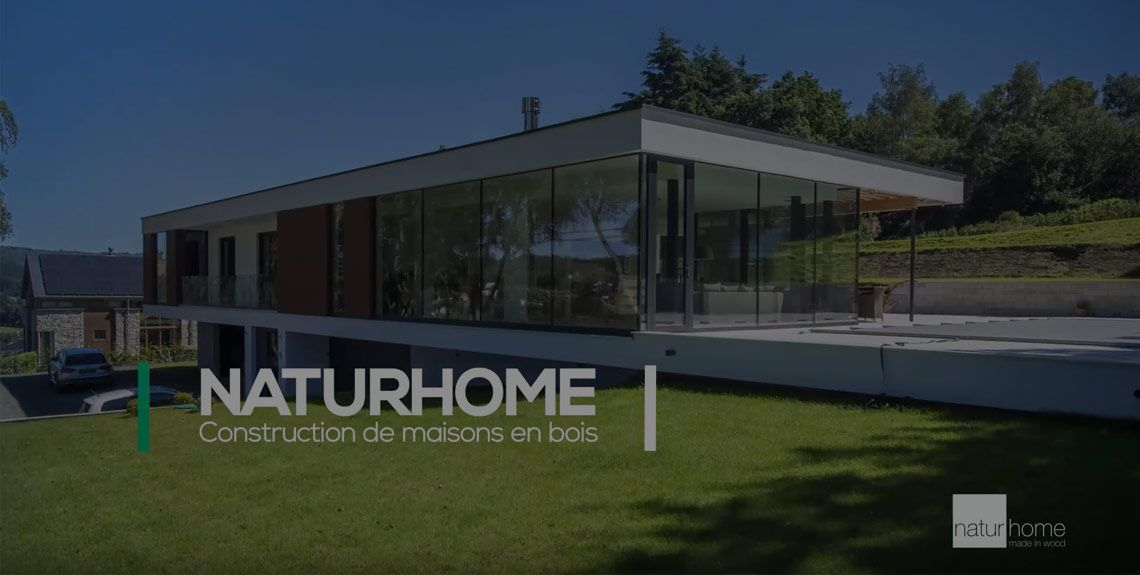 Naturhome construction de maisons passives for Architecture maison en belgique